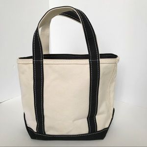 LL Bean Zip-Top Small Boat and Tote